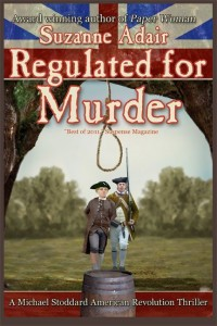 regulated for murder | Author Suzanne Adair