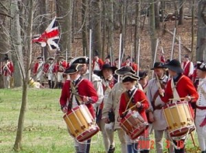 Redcoats at Guilford Courthouse