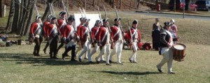 Redcoats in Hillsborough