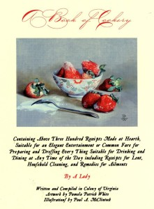 A Book of Cookery by a Lady book cover image