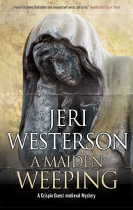 A Maiden Weeping book cover