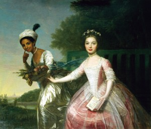 Dido Elizabeth Belle and her cousin Lady Elizabeth Murray