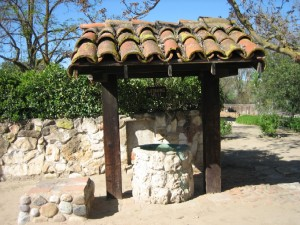 Old well in California