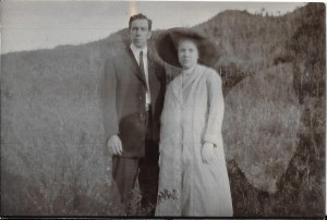 Harvey and Grace in 1912 at Kuling
