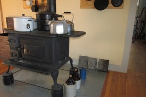 Old timey wood stove