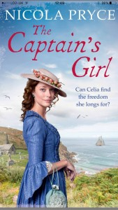 The Captain's Girl book cover image