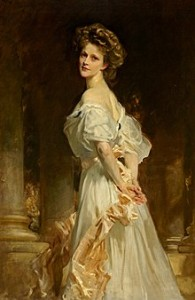 Lady Nancy, Viscountess Astor, the first woman to serve in Parliament